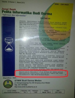 Pelita Informatika Budidarma Vol IIi