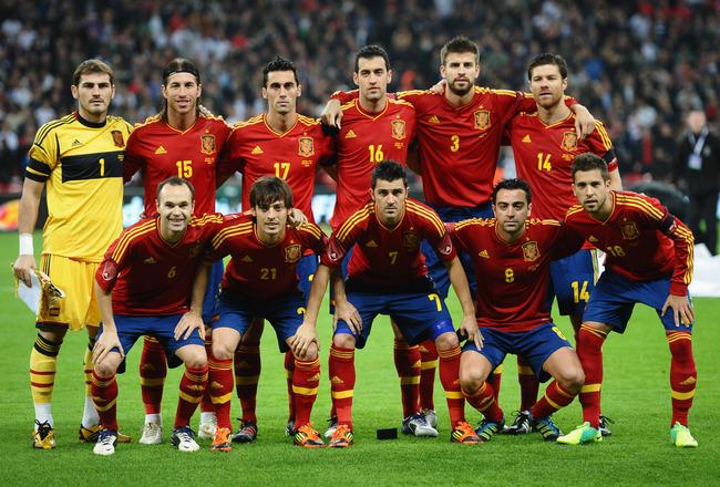 Team 1 Spanyol