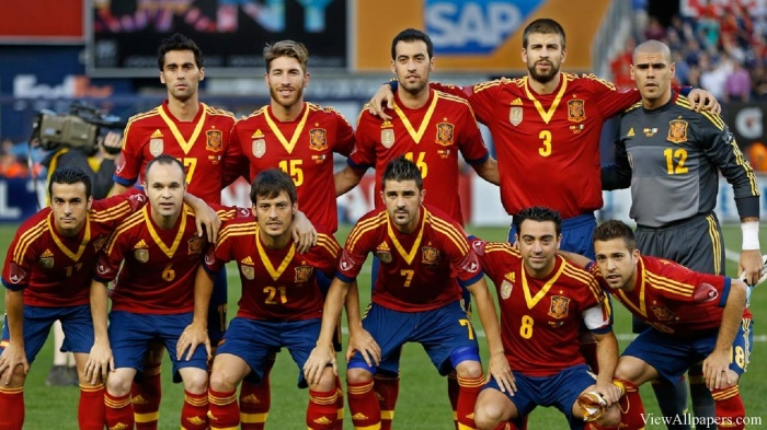 Team 2 Spanyol